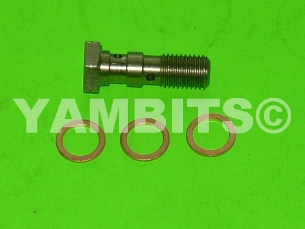 RZ250 Brake Hose Banjo Bolt Stainless Twin