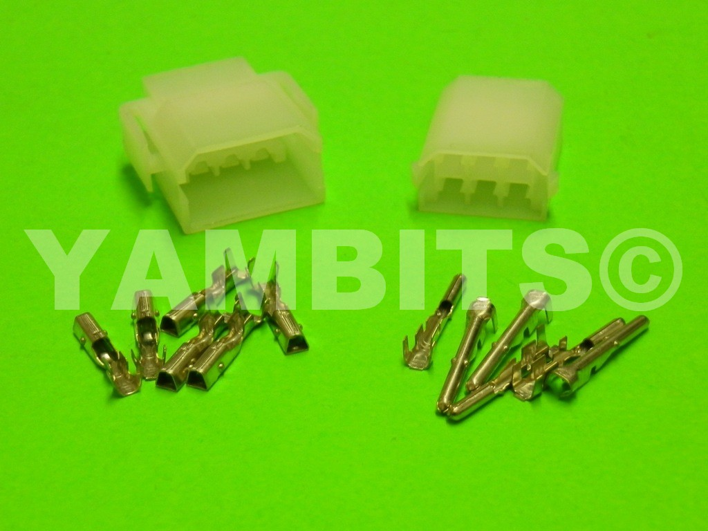 Connector Block Kit 6 Way 2 5mm Round Pin Cbk005 Terminals And Motorcycle Wiring Blocks 25mm