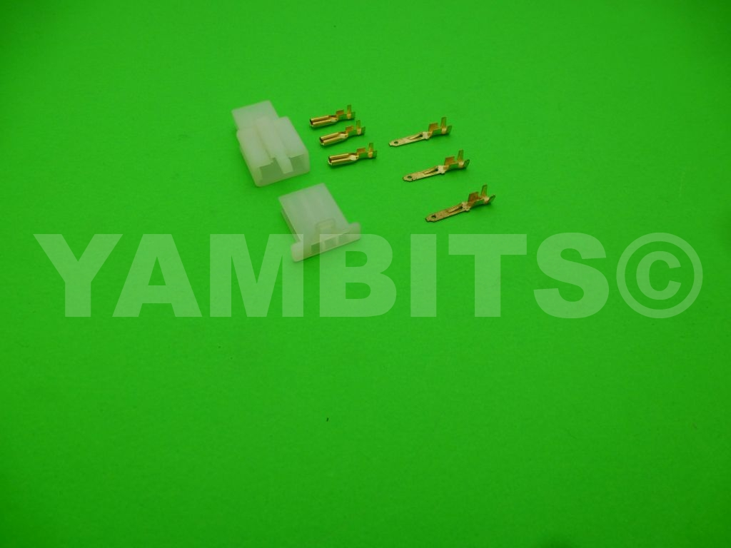 Connector Block Kit 3 Way 2.8mm Flat Pin