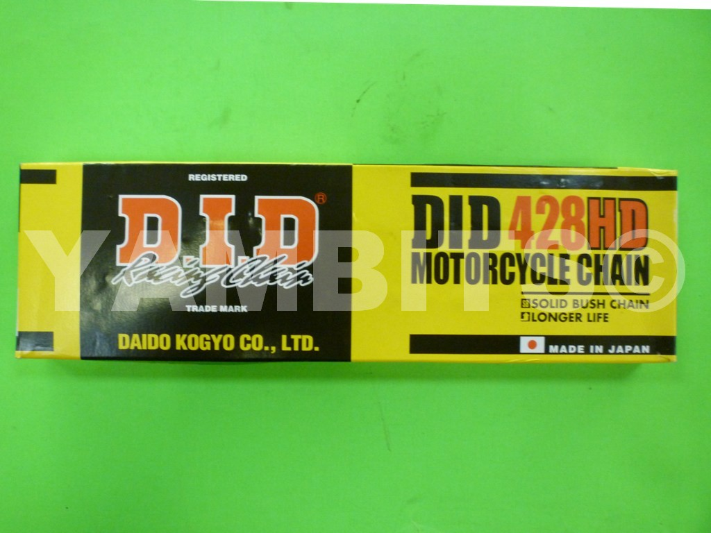 DT125R DID 428HD 134 Link Chain 1988