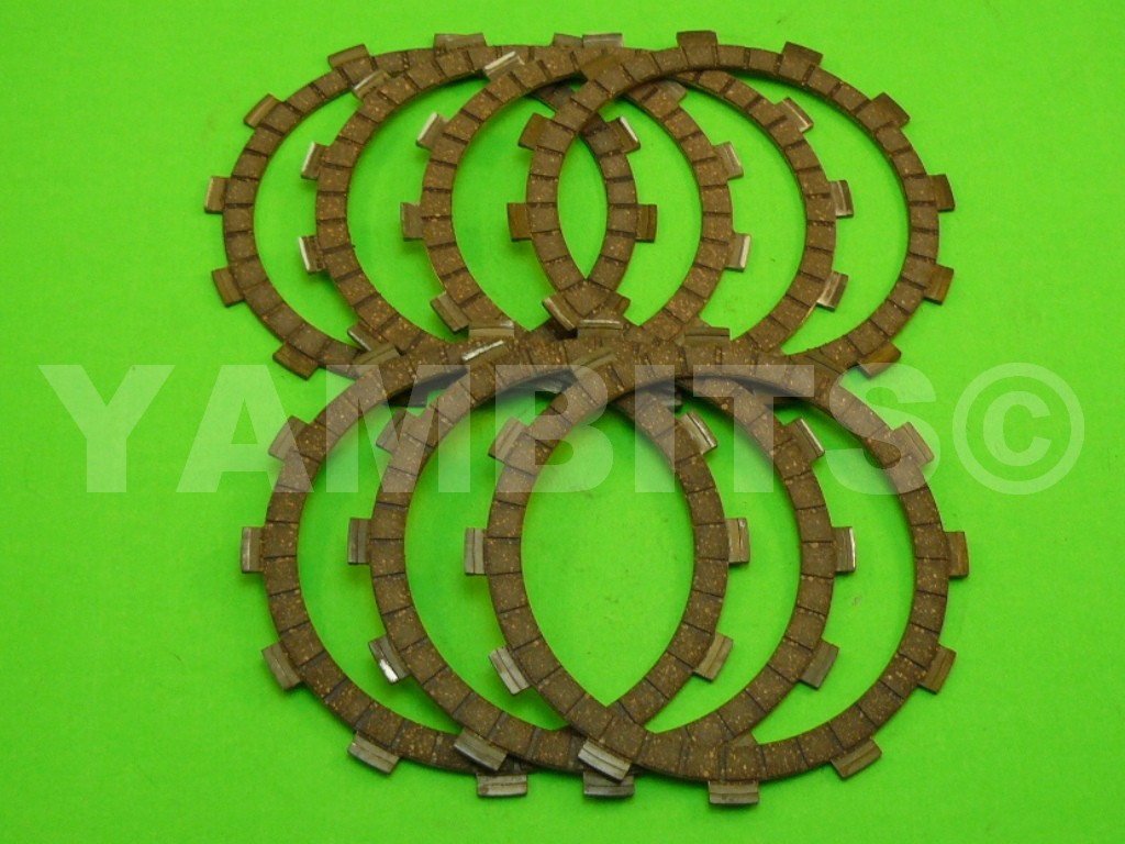 RZ500 Clutch Friction Plate Kit