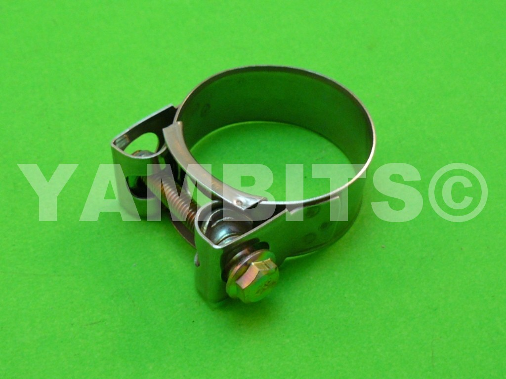 Stainless Steel Exhaust Clamp 43-47mm