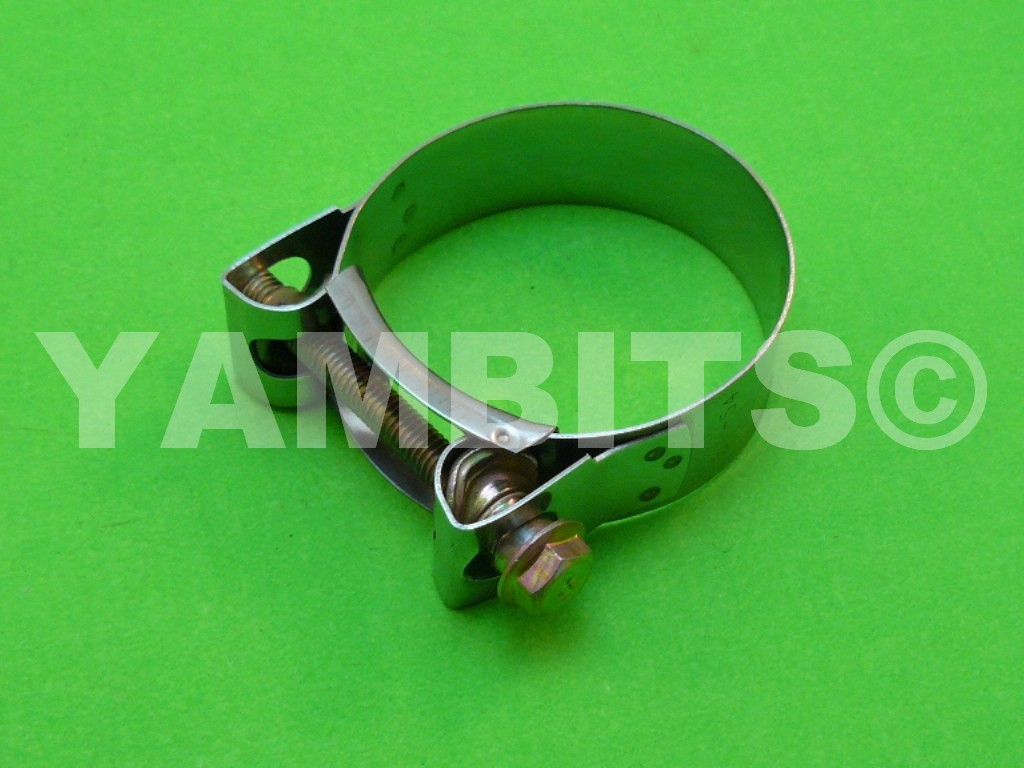 Stainless Steel Exhaust Clamp 47-51mm