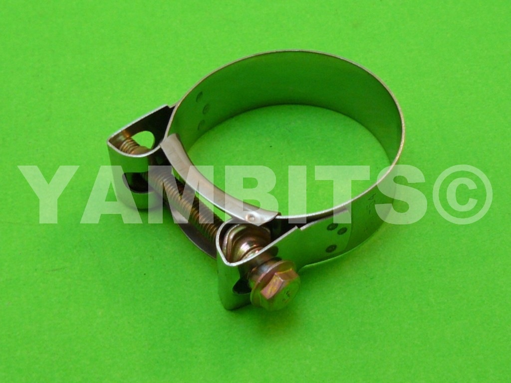 Stainless Steel Exhaust Clamp 51-55mm