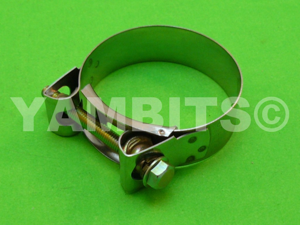 Stainless Steel Exhaust Clamp 55-59mm