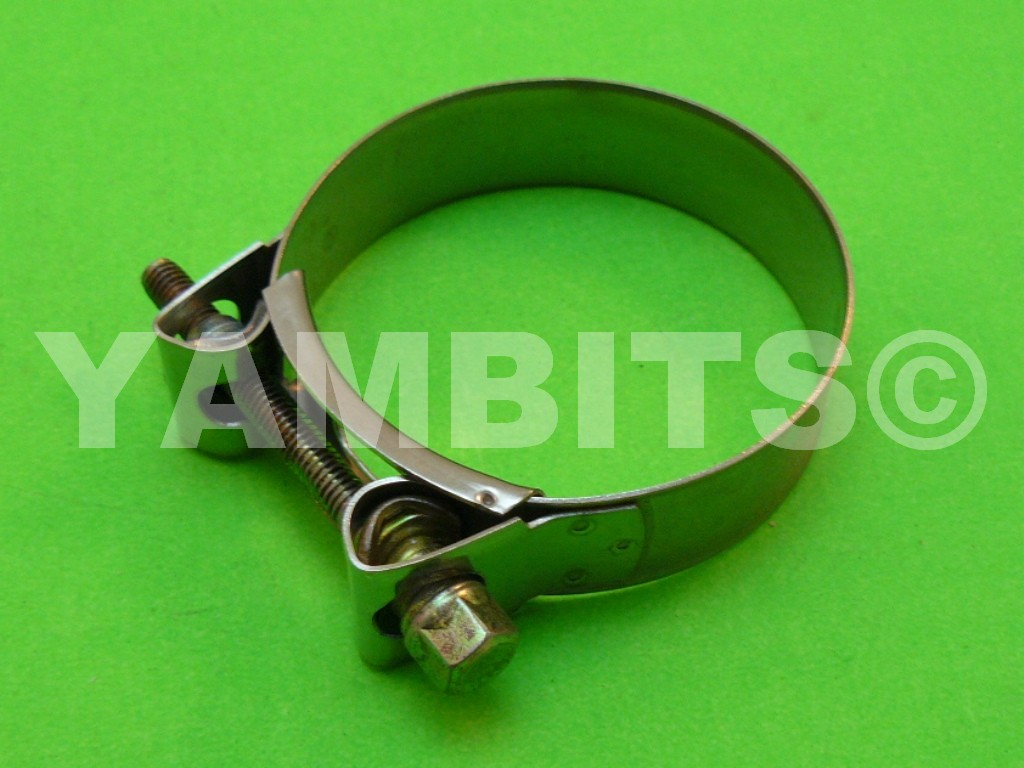 Stainless Steel Exhaust Clamp 59-63mm