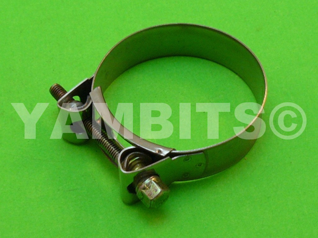 Stainless Steel Exhaust Clamp 63-68mm