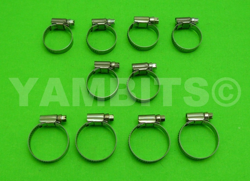 RD500 Silicone Hose Clip Kit