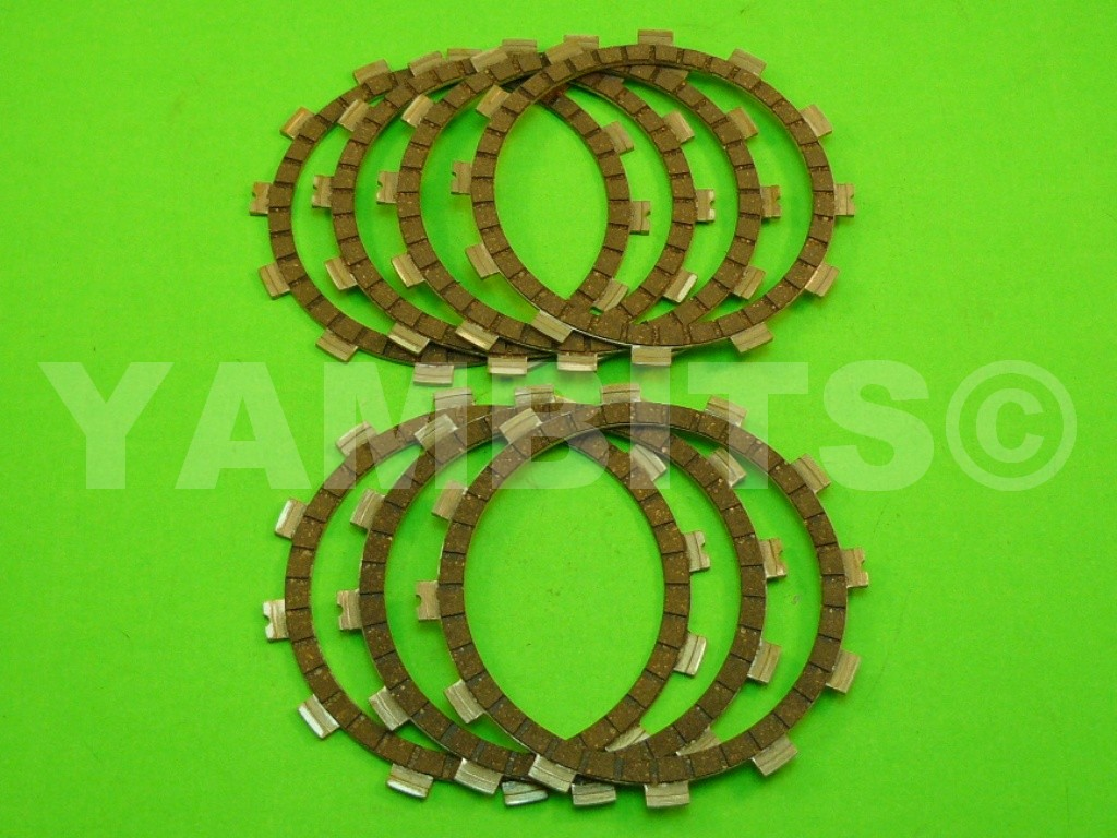 RD350 YPVS LC2 Clutch Friction Plate Kit