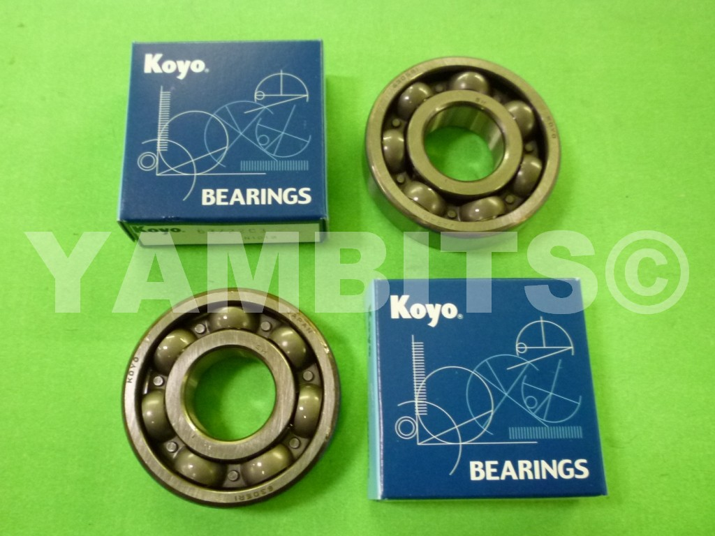 DT125R Crank Bearing Kit Koyo