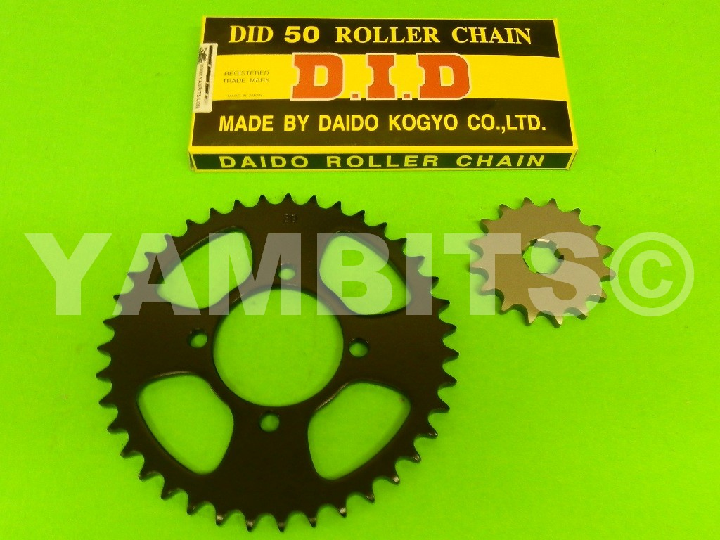 RD350LC Chain and Sprocket Kit