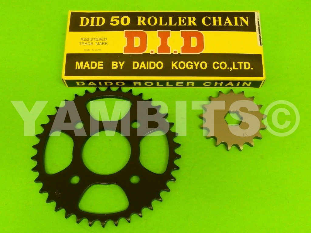 RD400D Chain and Sprocket Kit