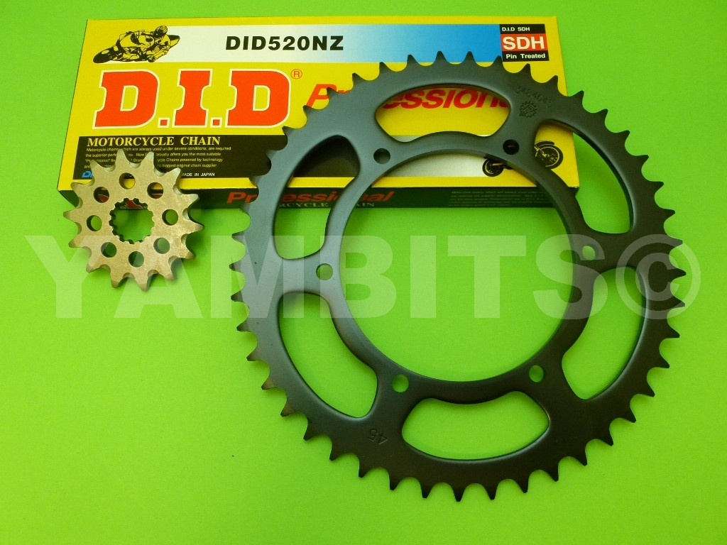 TDR240 Chain and Sprocket Kit
