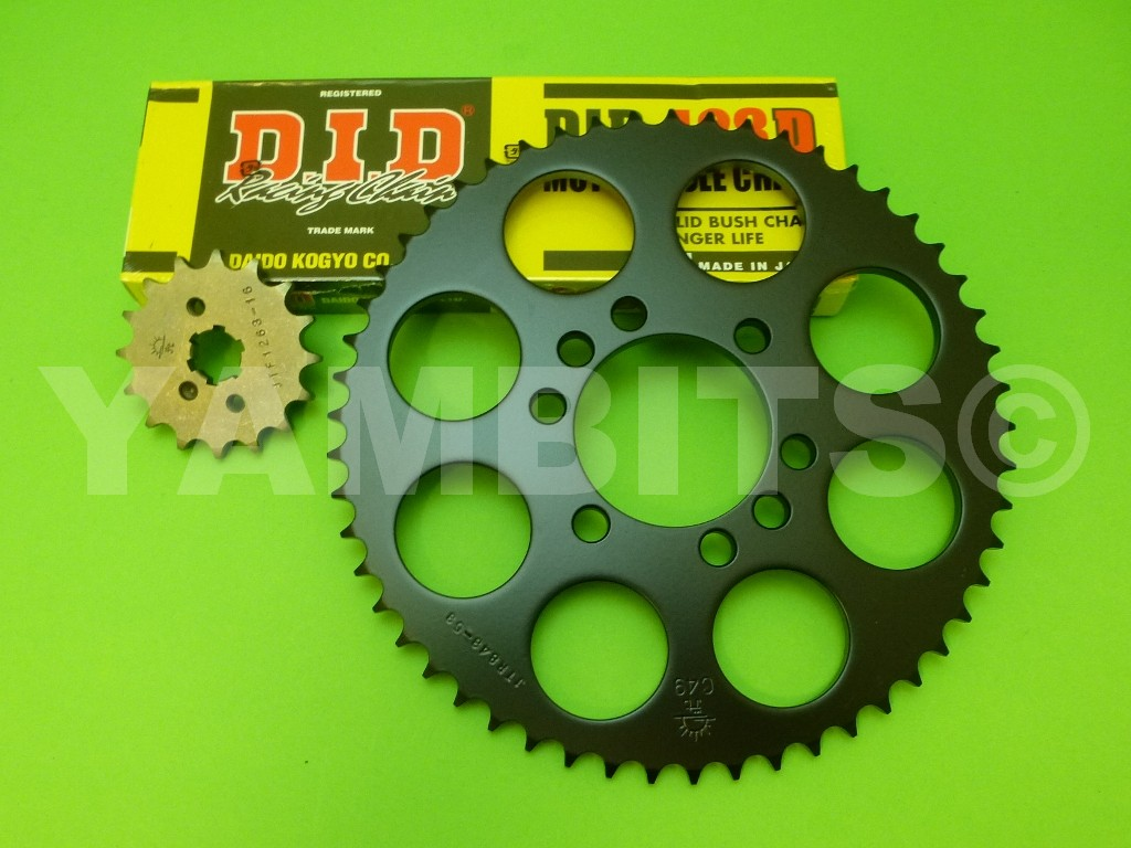 DT125LC MK1 Chain and Sprocket Kit LATE
