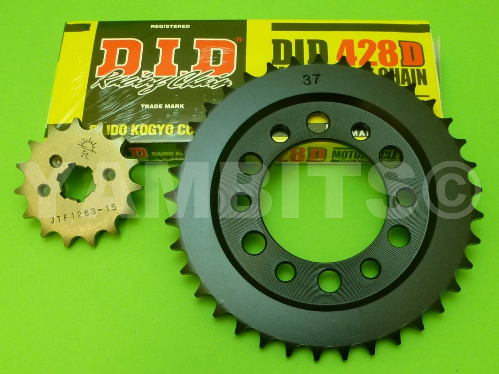 DT125E Chain and Sprocket Kit