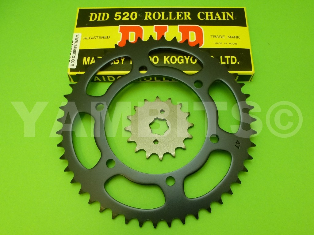 DT250MX Chain and Sprocket Kit