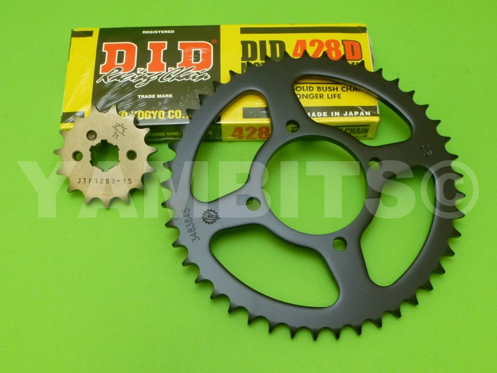 DT100 Chain and Sprocket Kit