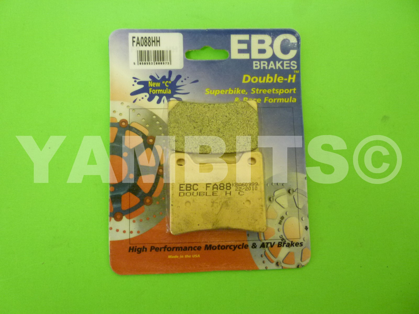 GTS1000 Brake Pads Rear EBC HH Sintered