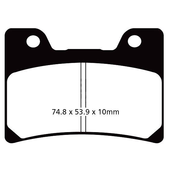 FZR600R Brake Pads Front EBC HH Sintered