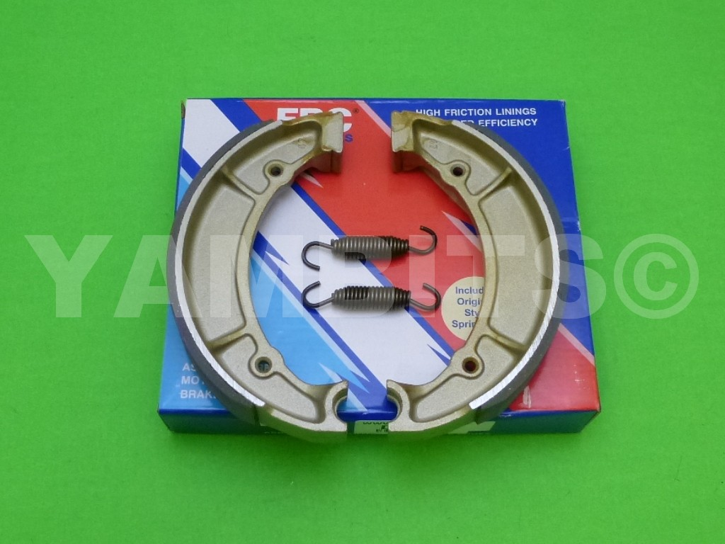 RD350LC Brake Shoes Rear EBC