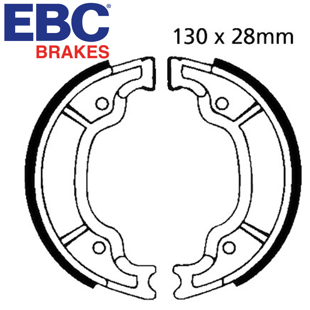 XV125 Virago Brake Shoes Rear EBC