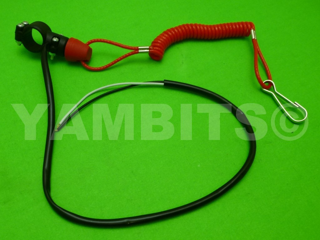 TY250B Engine Kill Stop Switch With Lanyard