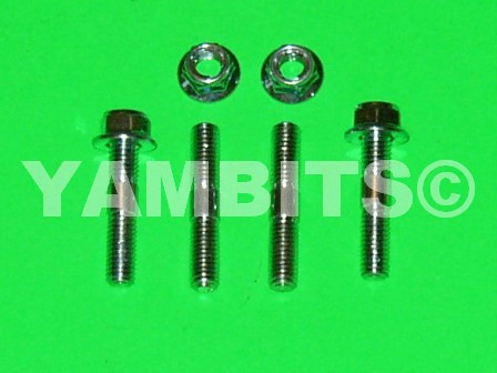 RD350 Exhaust Stud & Nut Kit