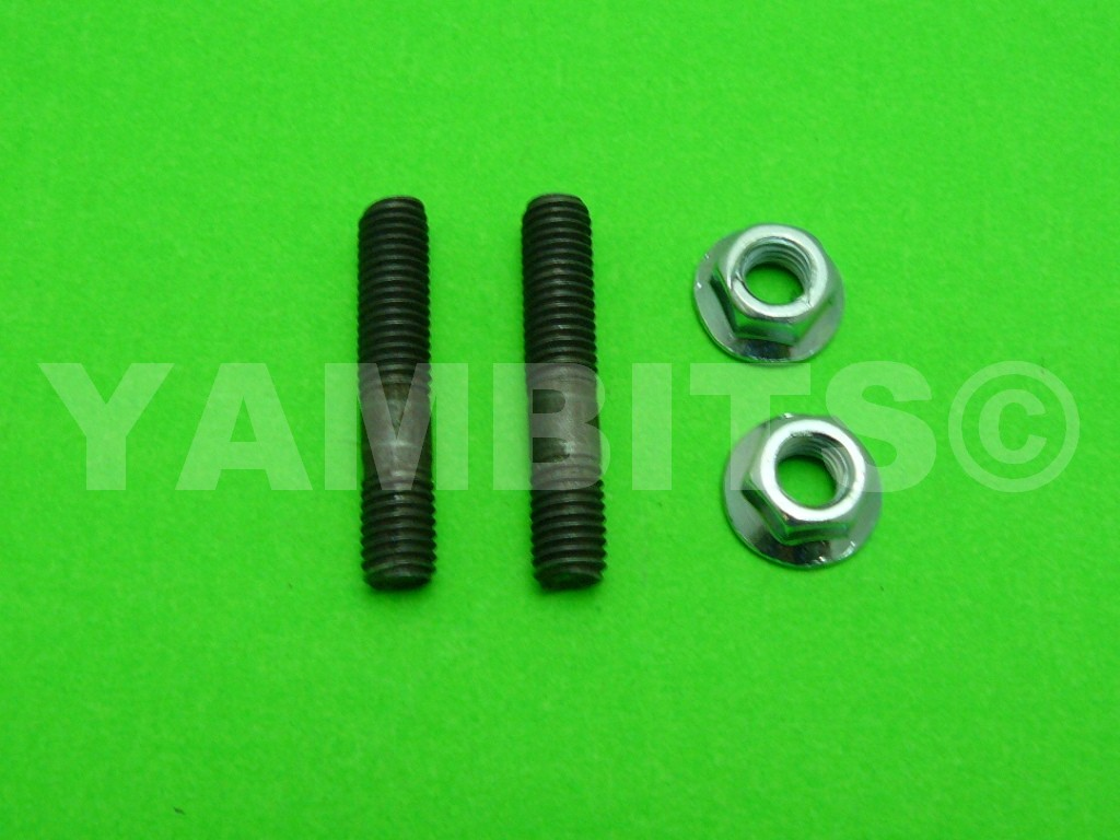 RZ250 Exhaust Stud & Nut Kit