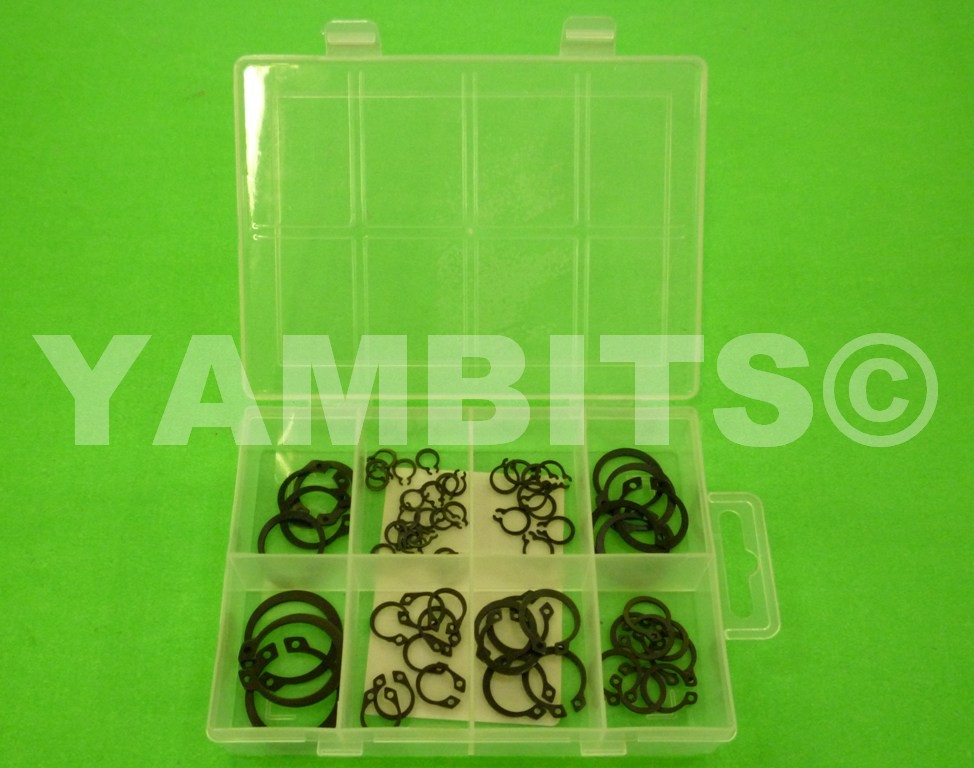 Assorted Pack Of External Circlips