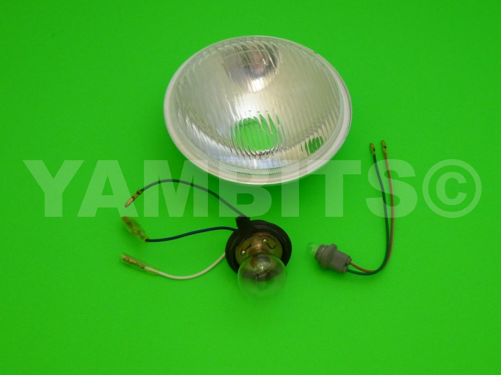RD200 1978 Headlight Unit with Side Light (S/W)