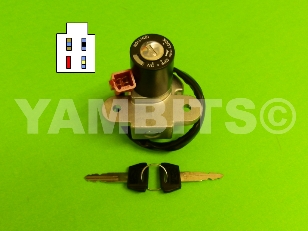 DT125RE Ignition Switch