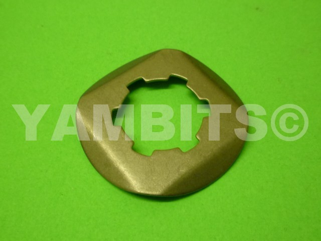RD350LC Sprocket Lock Tab Front