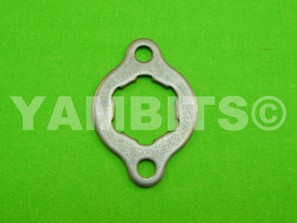FZ400R Sprocket Retainer Front