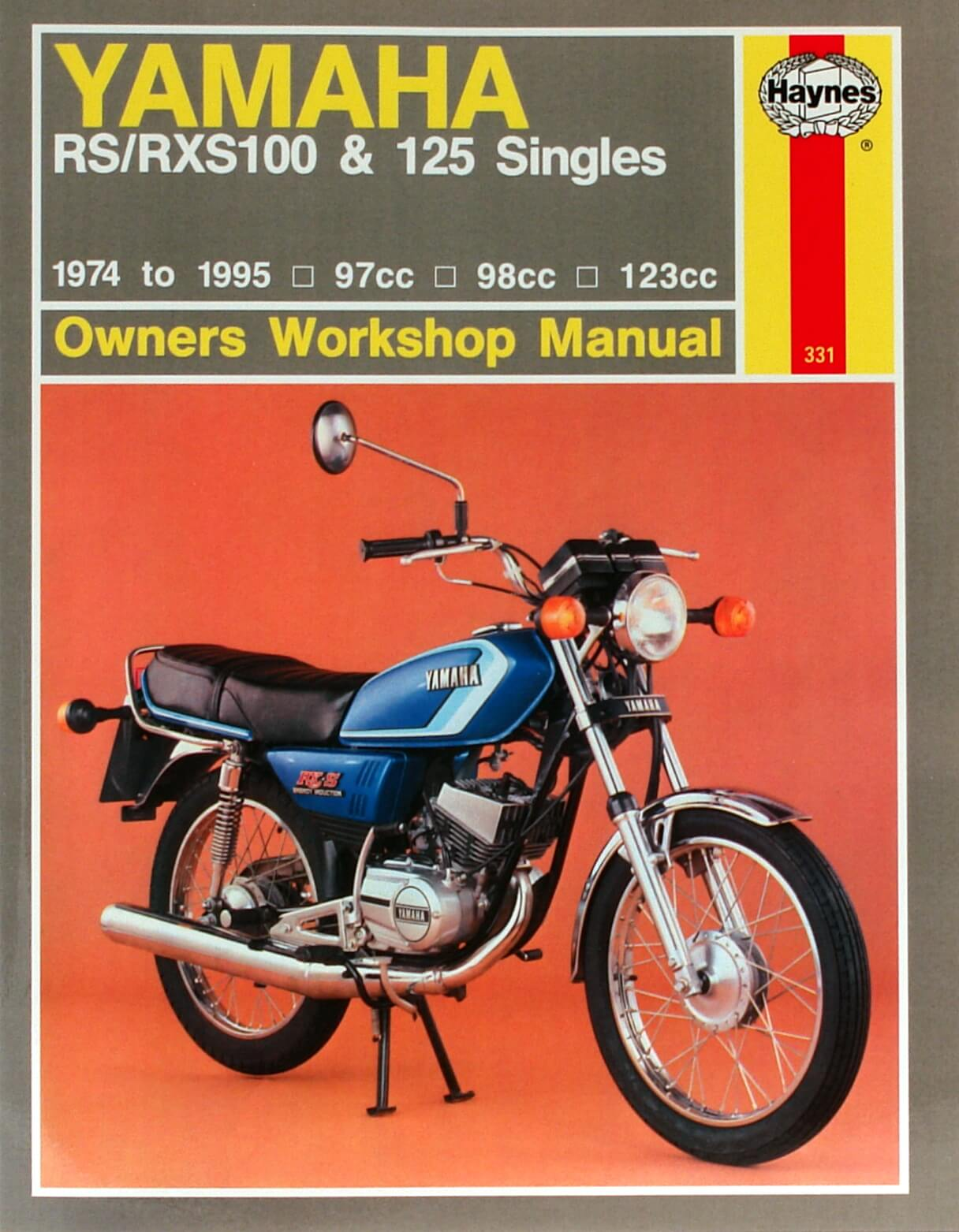 Rx100 Workshop Manual - Man003 - Manuals And Parts Books - Parts By Type