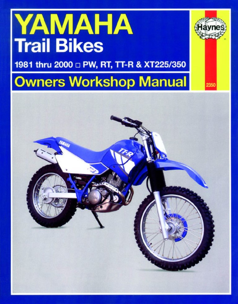 Xt350 Workshop Manual - Man023 - Manuals and Parts Books - Parts By on