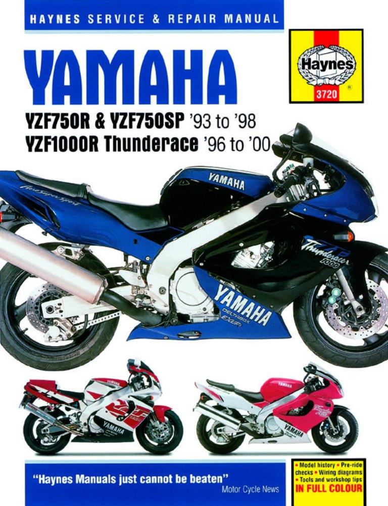 YZF750SP Workshop Manual