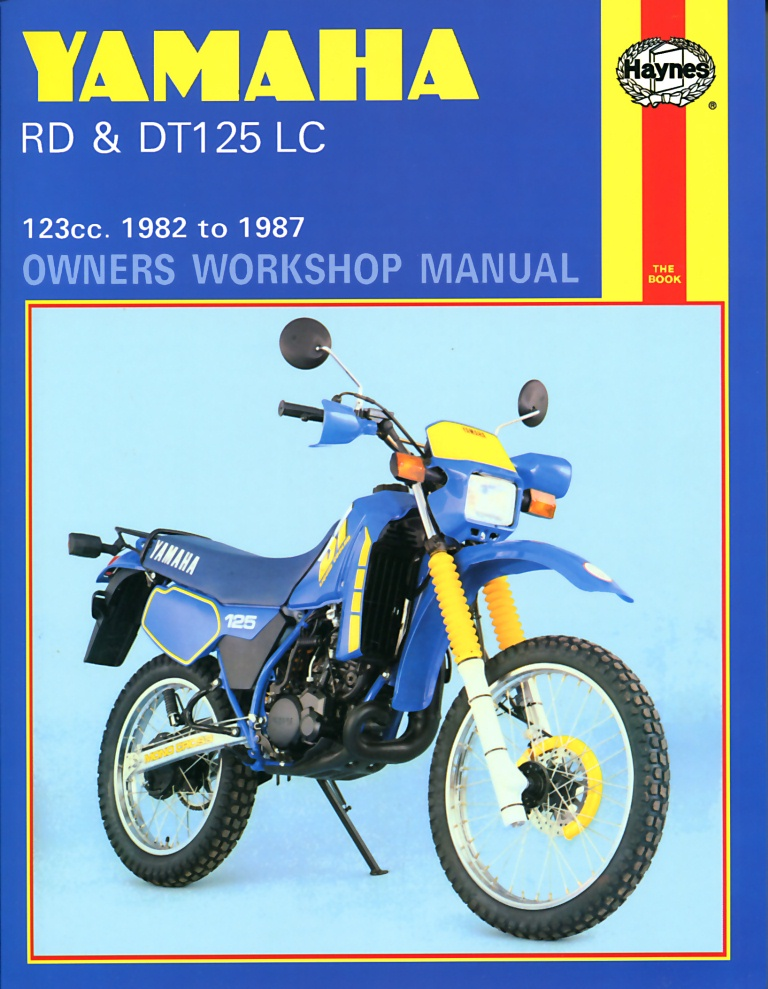 Rd125lc Mk3 Workshop Manual - Man033 - Manuals And Parts Books - Parts By Type