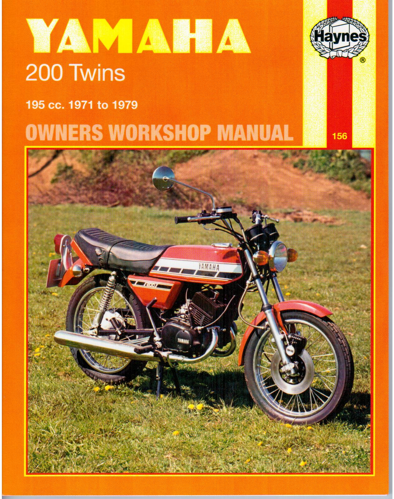 Rd200 Workshop Manual Man037 Manuals And Parts Books By Yamaha Wiring Diagram 1973