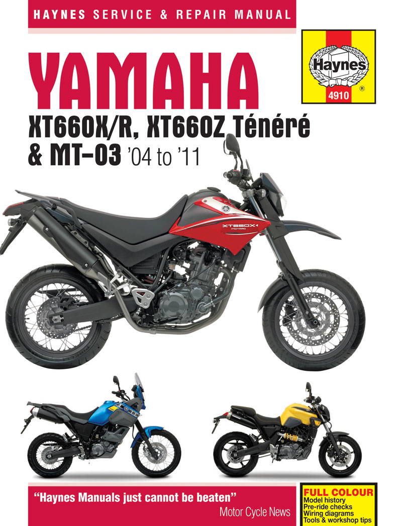 xt660z tenere workshop manual man044 manuals and parts books xt660z tenere workshop manual
