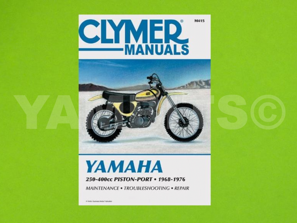 DT250 Workshop Manual
