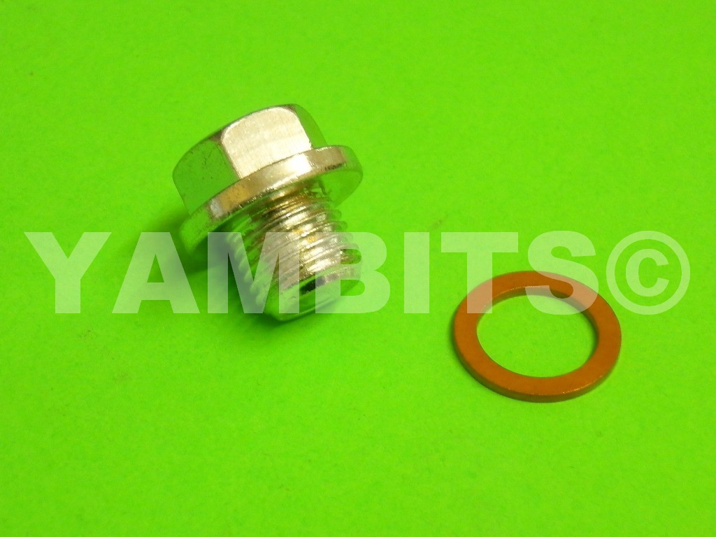 RD350 YPVS LC2 Gearbox Drain Plug & Washer