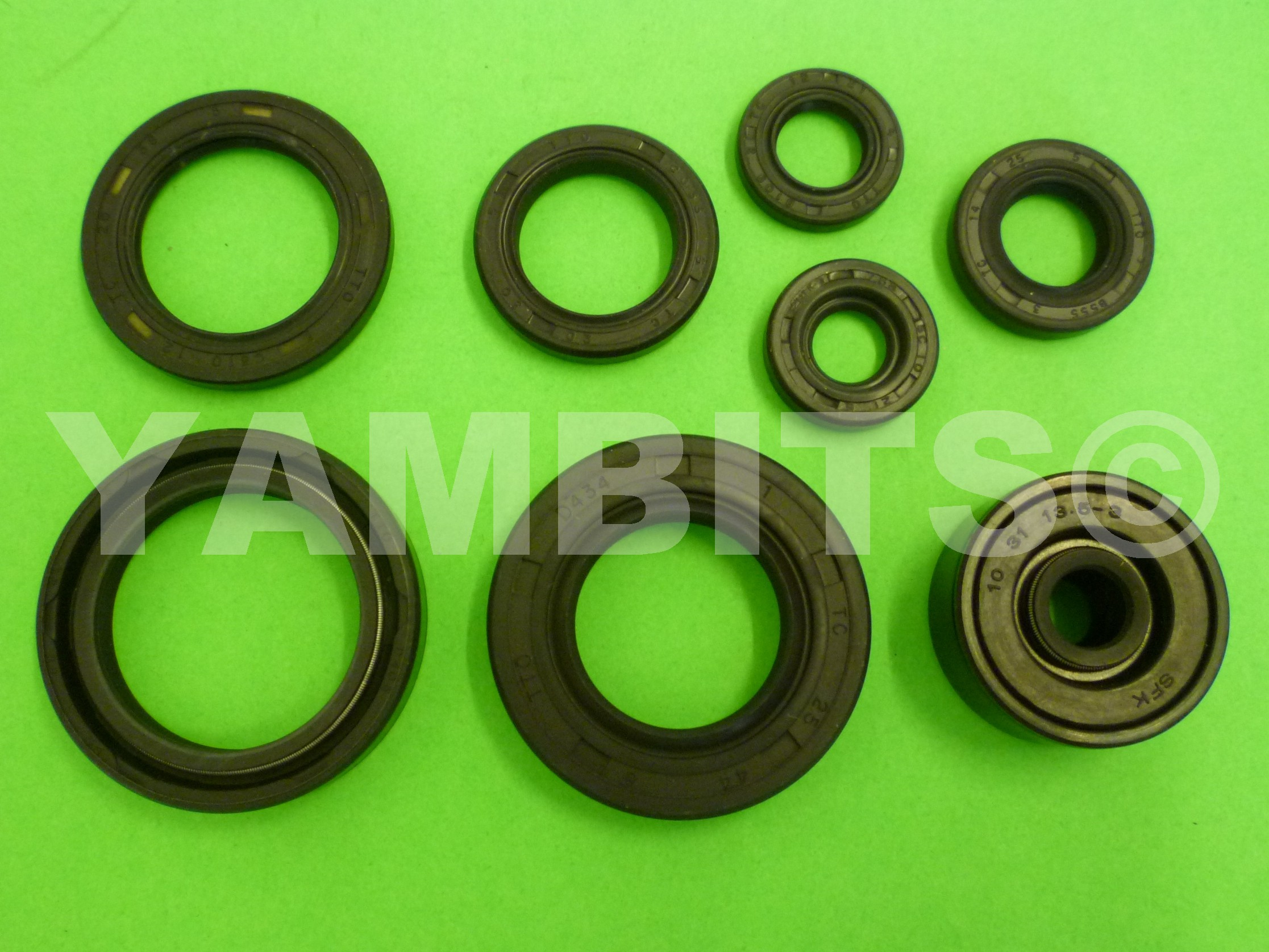 DT125R Engine Oil Seal Kit