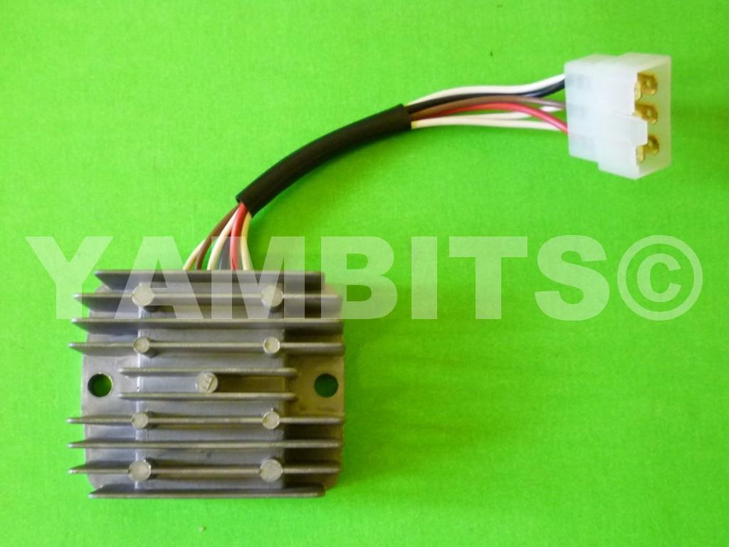 rd350 ypvs n1 regulator rectifier rec004 regulator rectifiers electrics switches frame