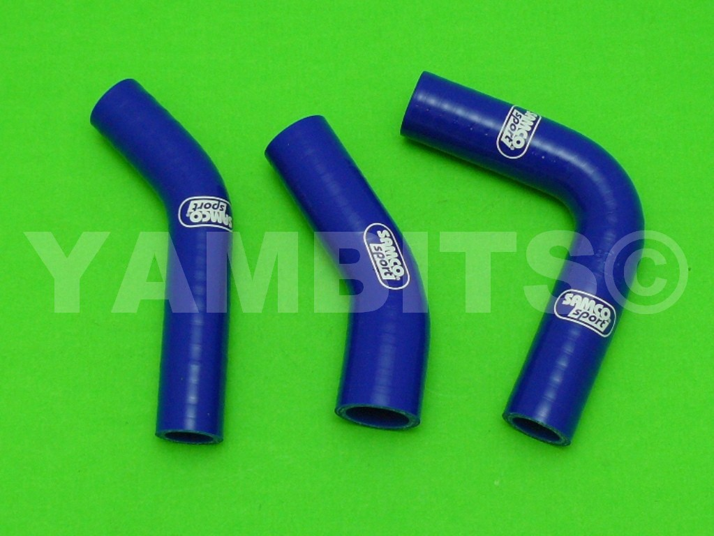 RD350LC Samco Blue Silicone Hose Kit