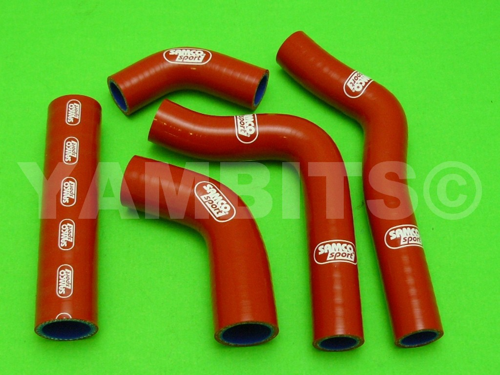 RD500 Samco Red Silicone Hose Kit