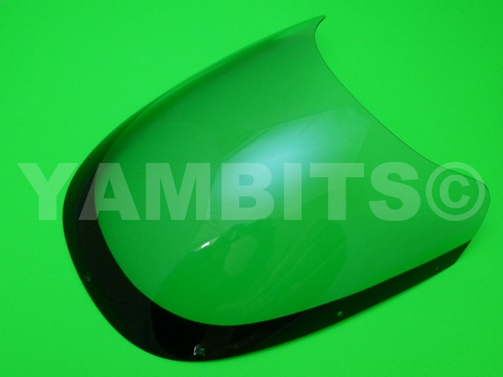 RZV500R Fairing Screen Light Grey