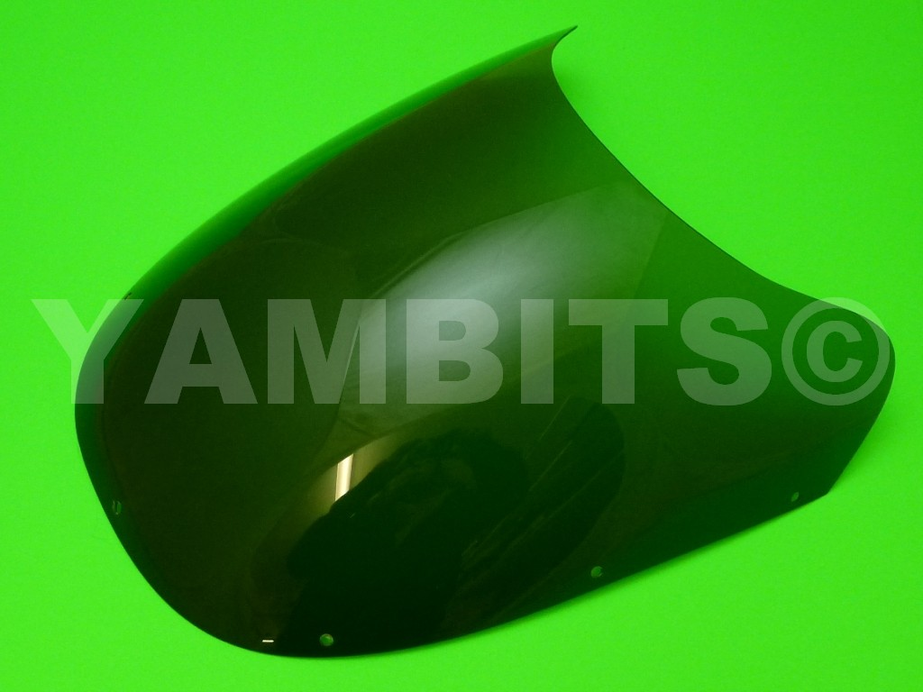 RZV500R Fairing Screen Dark Grey