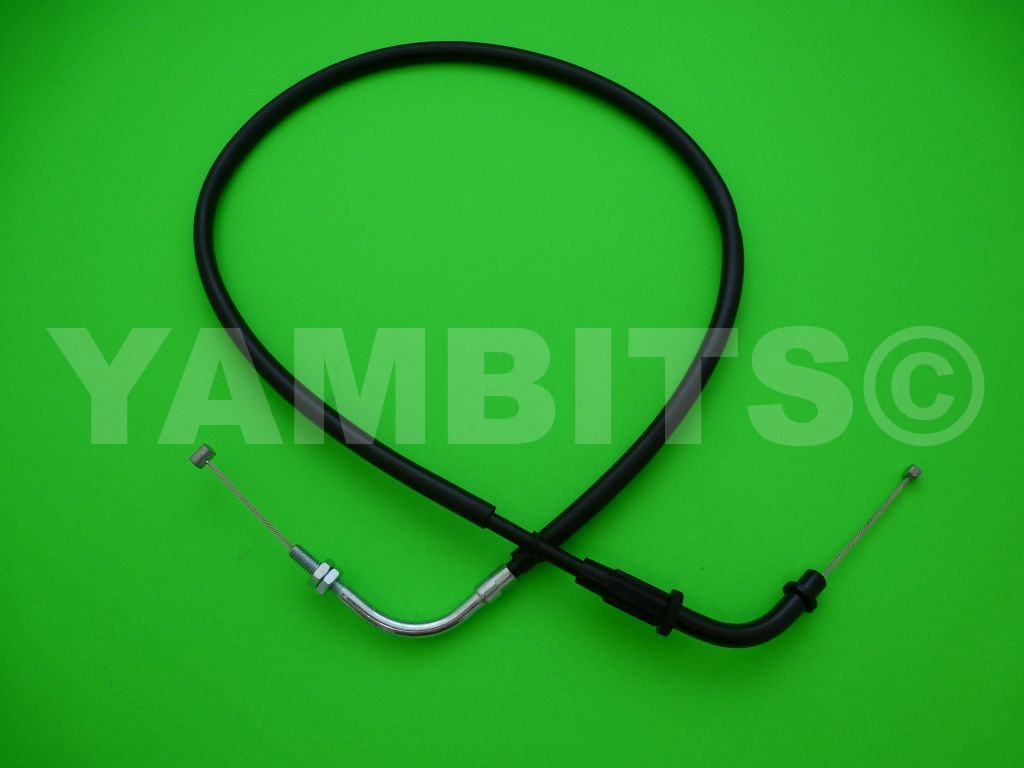 XV250 Virago Pull (open) Throttle Cable 1989-1991