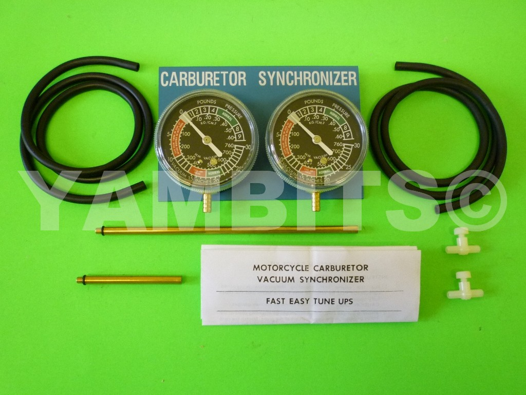 XV535 Virago Two Cylinder Vacuum Gauge Kit