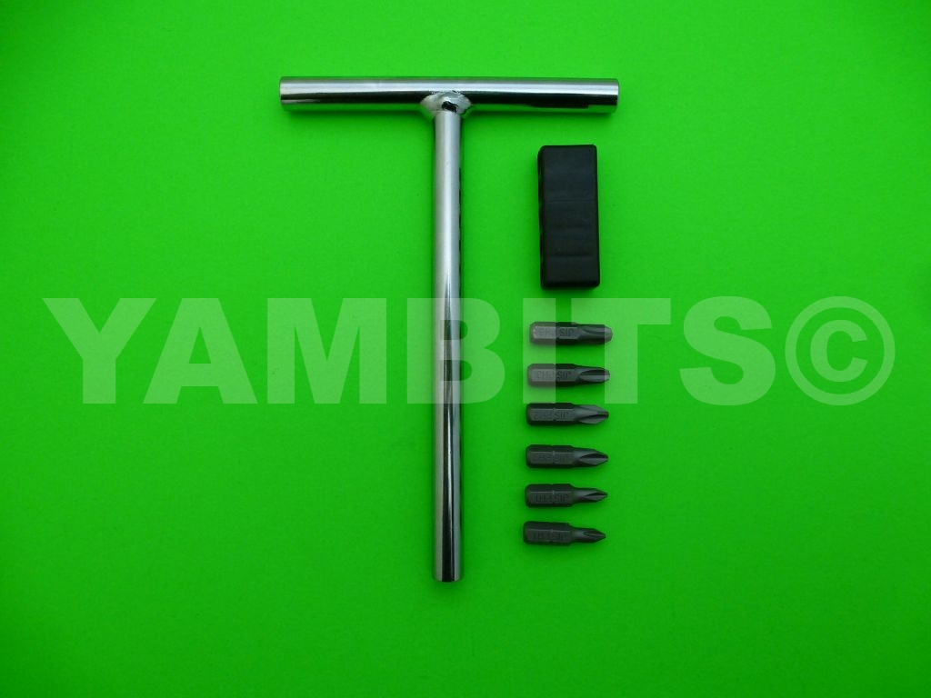 AS1 Screwdriver T Bar Set Japanese Industrial Standard (JIS)